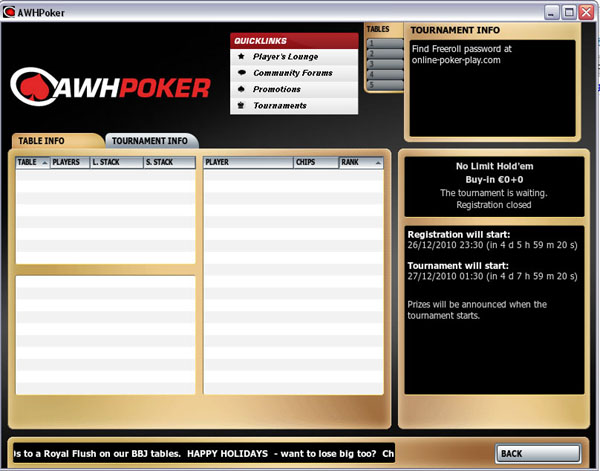 poker freeroll pass
